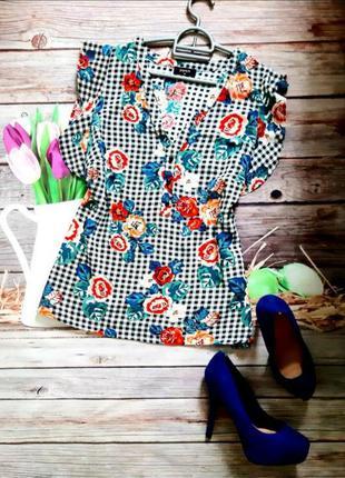 Стильная легкая блузка вискоза