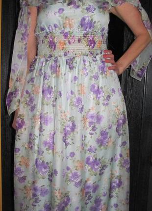 Нежное платье  от sublims р.48