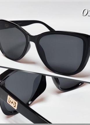 Стильные солнцезащитные женские очки с защитой от уф 400.