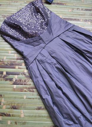 Шикарное платье с пайетками и пышным низом sixth sense by c&a