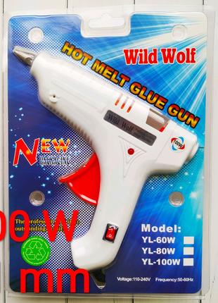 Пистолет клеевой, термопистолет для рукоделия под стержни 11 мм