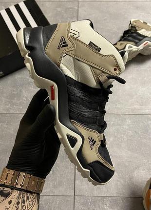 👟кроссовки  adidas terrex ax3 beige/black/ наложенный платёж👟