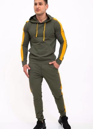 Мужской спортивный костюм 102R034W цвет хаки