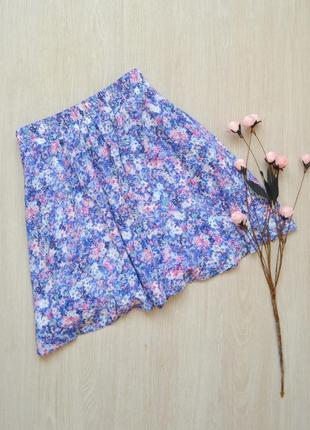 Красивая юбка с принт bershka
