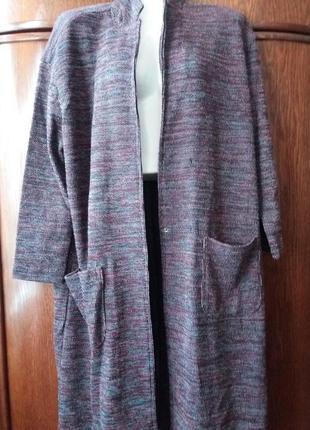 Sale  стильный длиный кардиган-легкое пальто zara- с-m-л