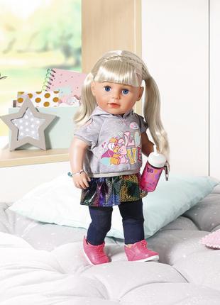 Лялька Baby Born Ніжні обійми Сестричка-Модниця Оригінал