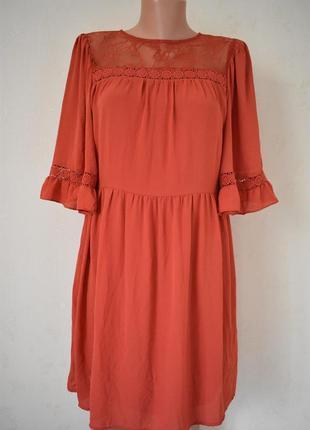 Новое красивое платье с кружевом new look