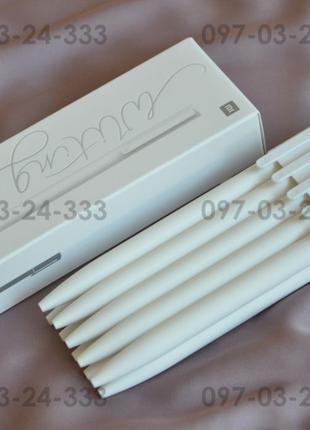 Суперцена! Xiaomi Mijia Mi Pen белая гелевая ручка черные чернила