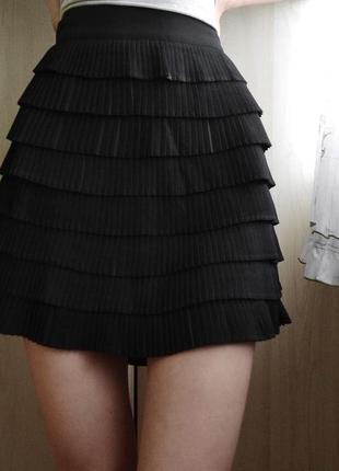 Плиссированная юбка плиссе  morgan