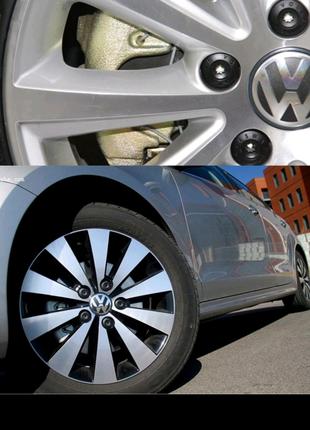 Колпачки на колесные болты с логотипом Volkswagen