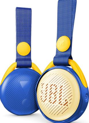 Портативная колонка JBL JRPOP Blue , Детская портавная акустика