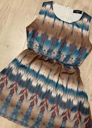 Летнее легкое платье размер с-м