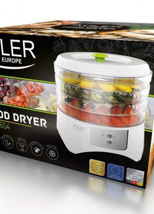 Сушилка для овощей и фруктов Adler AD 6654