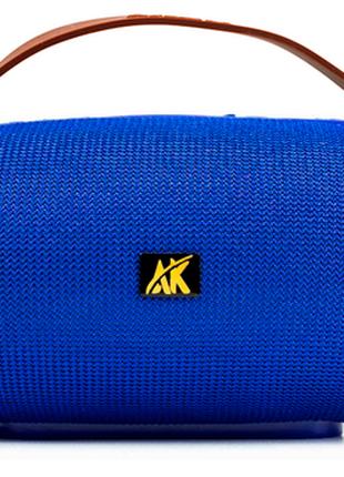 Беспроводная Bluetooth портативная колонка AK 205   Светомузыка