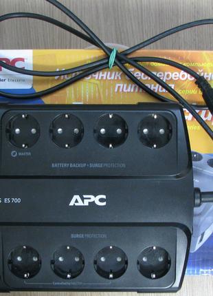 APC Back-UPS ES 700 VA (BE700G-RS), новый аккумулятор CSB