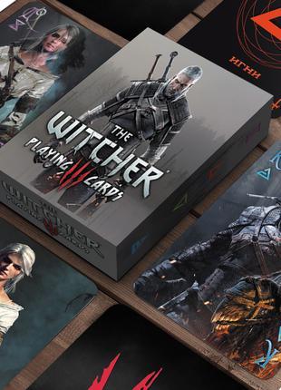 """Карты игральные сувенирные """"The Witcher"""" - Ведьмак"""