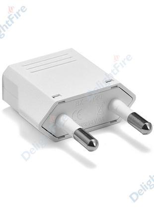 Переходник, адаптер (конвектор) для электрческой вилки - ЕС