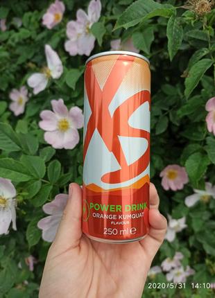 Енергетичний напій зі смаком апельсину і кумквату XS Drink Amway