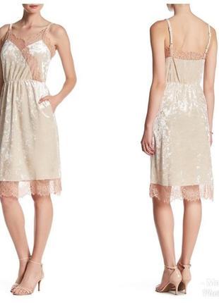 Вечернее платье в бельевом стиле тренд оригинал сша