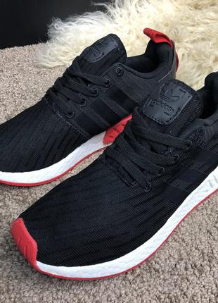Adidas Nmd R2 Pk Black/White/Red