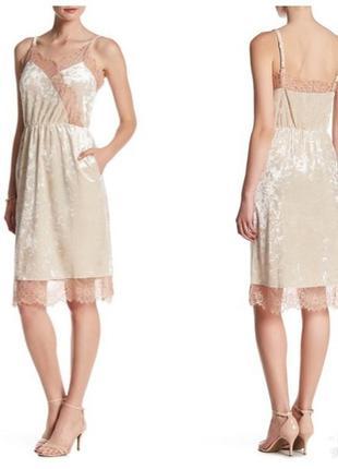 Платье миди в бельевом стиле тренд сша пролет