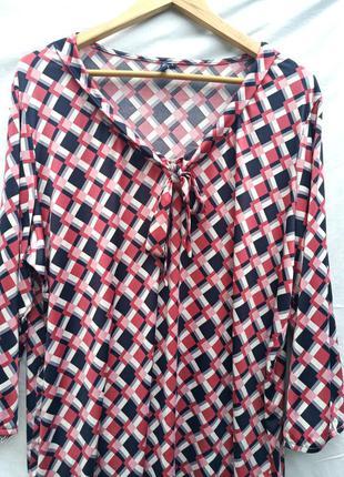 Стильная блузка в принт  paprika