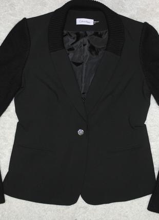 Для дерзких и смелых calvin klein жакет пиджак трикотажне рукава