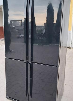 Холодильник Side by Side Beko GNE114612X 610л No Frost А++ черный