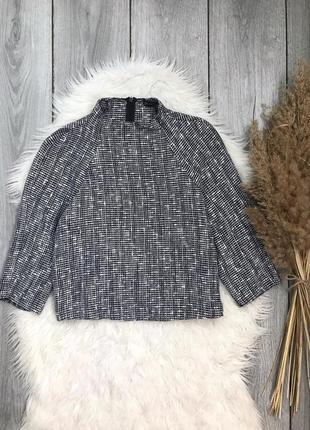 Zara зара блузка стильная размер xs с