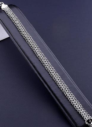 Браслет 'xuping' 20,5 см. (родий) 0806860