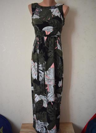 Натуральное платье с принтом большого размера dorothy perkins