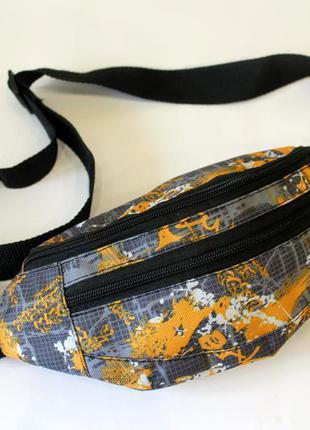 Бананка, барсетка, барыжка, сумка на пояс, напоясная сумка, по...