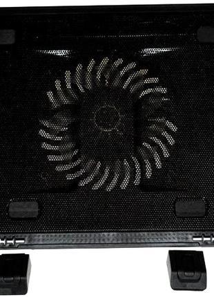 Охлаждающая подставка для ноутбука KS-IS Sunpi KS-236, с синей по