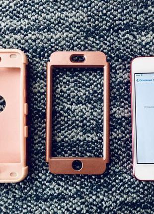 iPod Touch 5 Gen, 32Gb, Red/ Идеальное состояние + противоударный