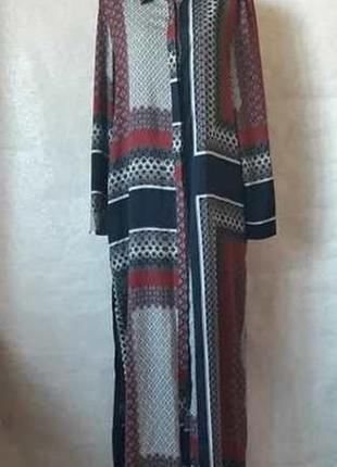 Фирменное missguided платье-рубашка/длинное платье/туника в ор...