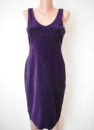 Новое красивое велюровое платье