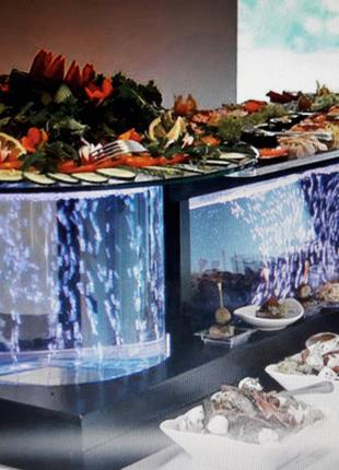 Фуршетний стіл ,,Екслюзив,, Фуршетный стол. Аквастол