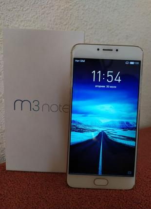 Meizu M3 Note 16 GB Gold