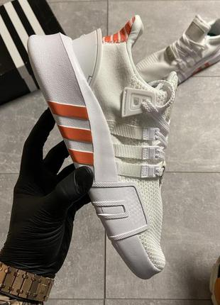 👟кроссовки  мужские adidas eqt support bask adv white orange./...
