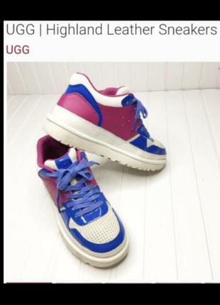 Кожаные Highland кроссовки  UGG
