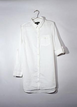 Котонова подовжена сорочка,