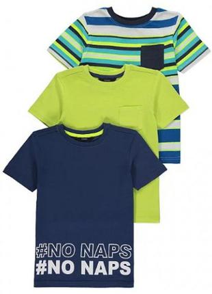 Набор футболок для мальчика george