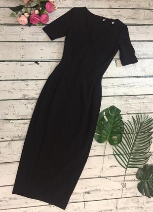 Платье чёрное zara
