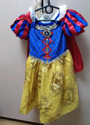 Детское карнавальное,нарядное платье белоснежки,принцессы на 3-