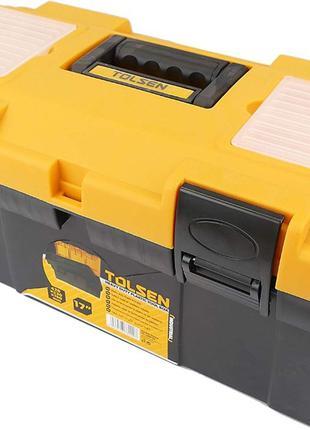 Ящик + комплект инструментов Tolsen