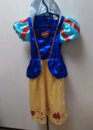 Детское карнавальное платье белоснежки, принцессы на 3-4 года