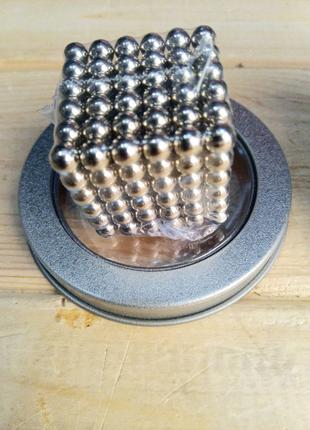 Магнитный конструктор-головоломка Неокуб Neocube 216 шариков