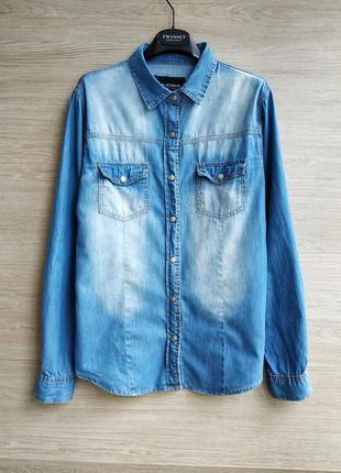 Джинсовая рубашка chicoree.