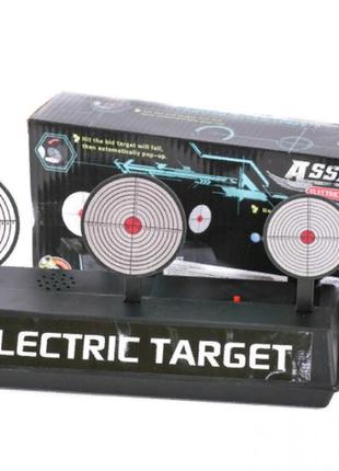 Мишень для игрушечного оружия для прицельной стрельбы