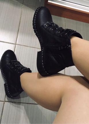 Ботинки демисезонные‼️НОВЫЕ‼️